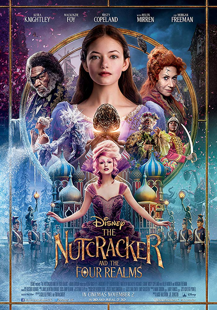 5.5/10 593 The Nutcracker and the Four Realms